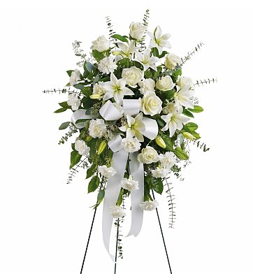 Funeral Flowers: Sentiments of Serenity Spray