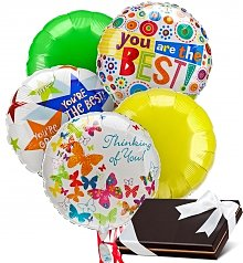 Balloons & Chocolate: Balloons & Chocolates-5 Mylar