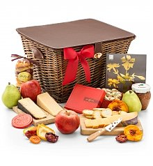 Cheese, Charcuterie Gifts: Artisan Fruit and Cheese Hamper