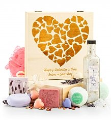 Spa Gift Baskets: Valentine's Day Spa Crate