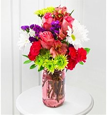 Flower Bouquets: Pink Happy Bouquet