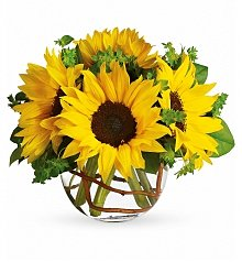 Flower Bouquets: Sunny Sunflowers